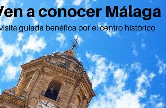Visita guiada benéfica por el centro de Málaga
