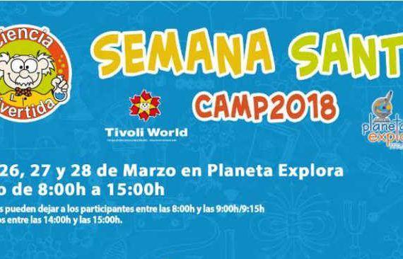 campamento de Semana Santa Ciencia Tivoli