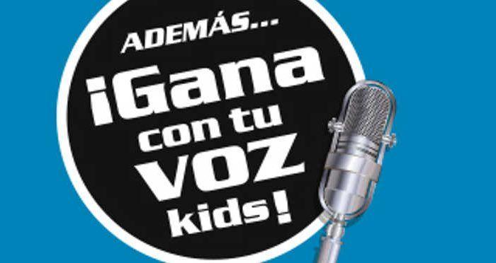 concurso musical infantil Gana con tu voz kids