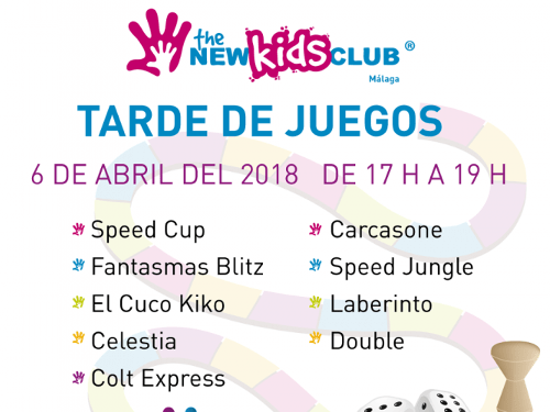 tarde de juegos The New Kids Club