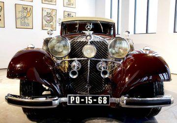 Qué hacer en Málaga con niños: visita al Museo Automovilístico y de la Moda