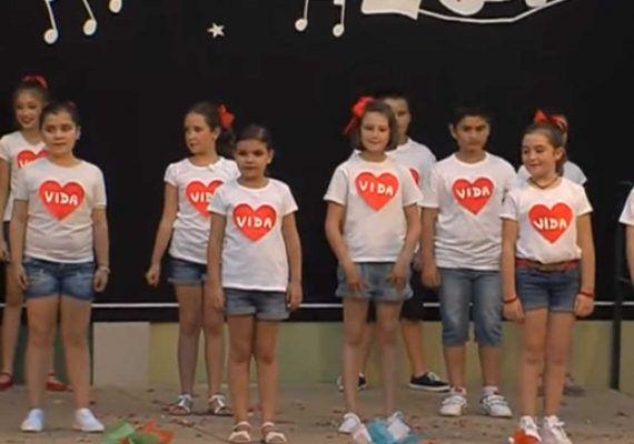 baile niños fin de curso