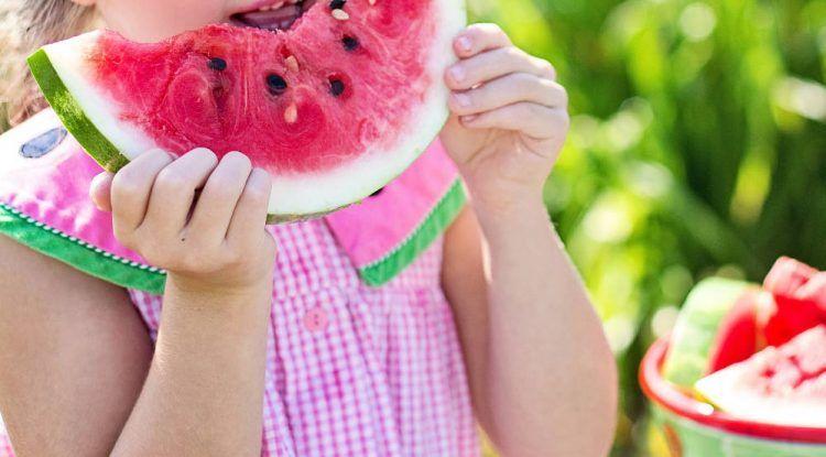 frutas niños