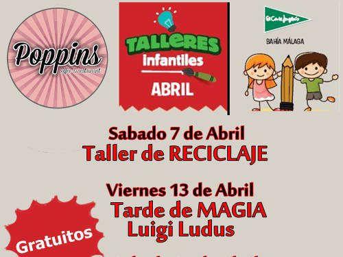 Tallleres para niños El Corte Inglés Bahía Málaga
