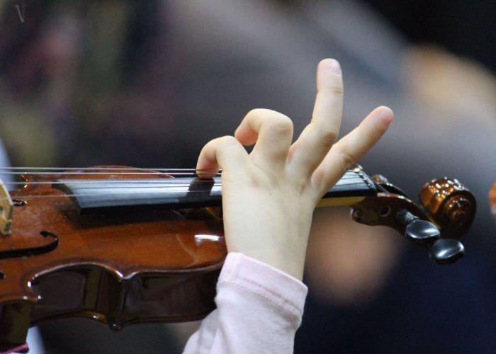 taller de violin para familias