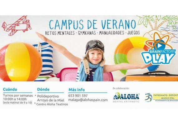 Campamento de verano de Aloha Málaga en Benalmádena