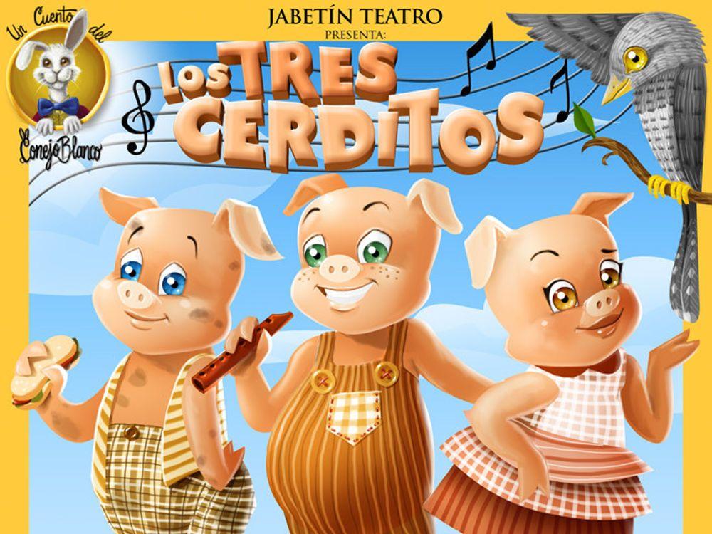 Teatro infantil 'Los 3 cerditos'…