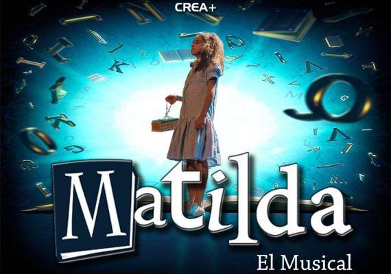 Cartel musical infantil Matilda