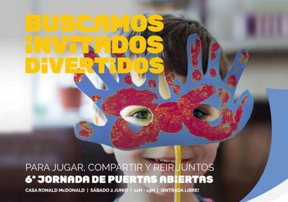 Jornada de Puertas Abiertas en la Casa Ronald McDonald Málaga 2018