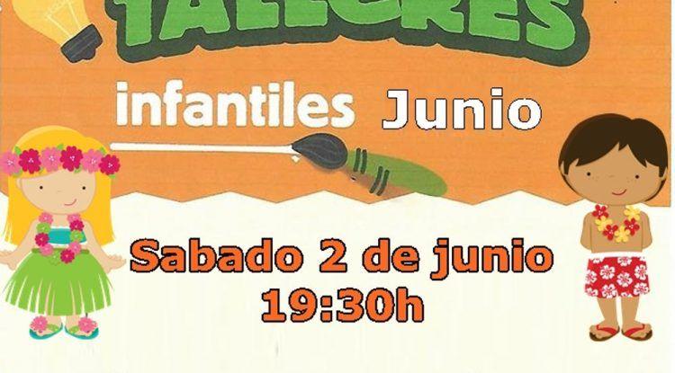 Talleres de Poppins en el Corte Inglés Bahía Málaga