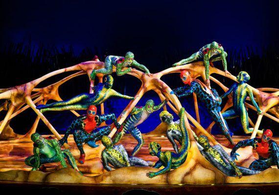 Totem, espectáculo de Cirque du Soleil
