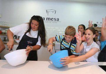 Campamento de verano de cocina para niños en La Mesa Málaga