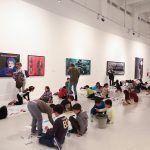 Arte y creatividad para niños en los talleres gratuitos de verano del CAC Málaga