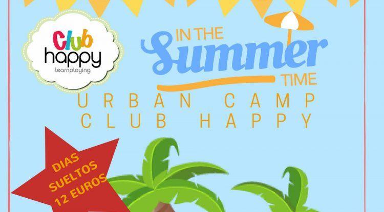 Campamento de verano para niños en el Club Happy Málaga