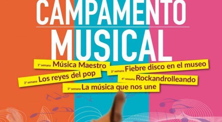 Campamento musical de verano para niños en el MIMMA Málaga