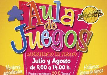 Disfruta de más de un centenar de juegos en el campamento de verano infantil de Play Planet Málaga