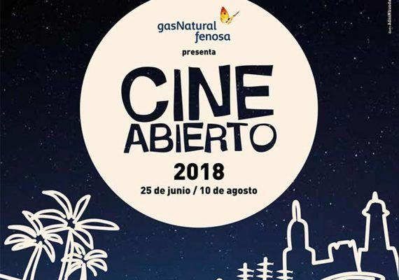 Cine de verano 2018 gratis en Málaga para toda la familia