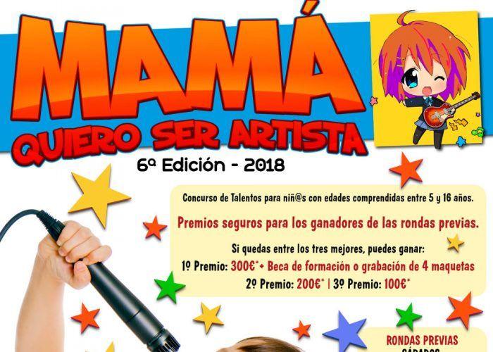 Concurso para niños y jóvenes artistas en el Centro Comercial Rincón de la Victoria
