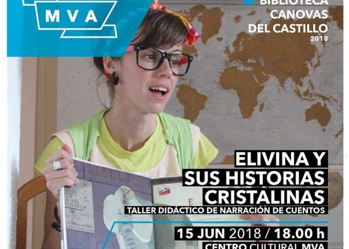 Cuentacuento 'Elivina y sus historias cristalinas' en el MVA