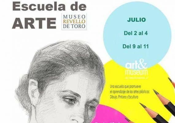 Escuela de arte para niños en el Museo Revello de Toro de Málaga este verano