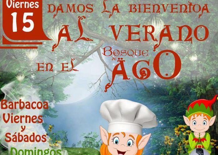 Fiesta de inauguración del verano en El Bosque de Ago