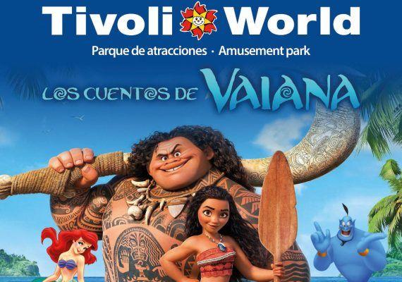 Musical de Vaiana para niños en Tivoli World