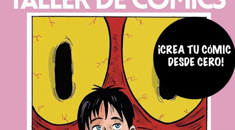 Taller de cómics para niños y jóvenes en Málaga
