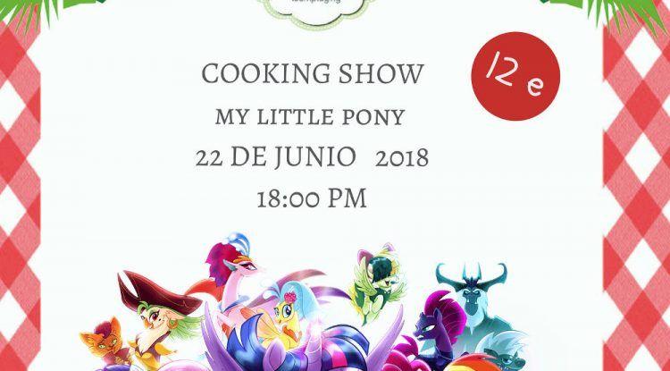 Taller de cocina para niños 'My Little Pony' en Club Happy Málaga