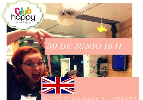 Taller de slime para niños en el Club Happy Málaga