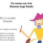 Talleres artísticos gratis para niños durante el verano en el Museo Jorge Rando de Málaga