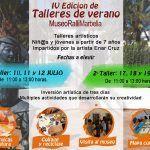 Talleres gratuitos de arte y creatividad para niños en el Museo Ralli Marbella en julio