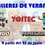 Tecnología robótica educativa para niños en los talleres de verano de Yoitec Málaga