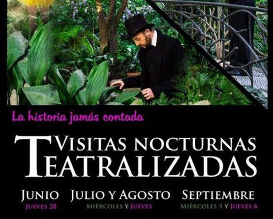 Visitas nocturnas teatralizadas este verano en el Jardín Botánico La Concepción de Málaga