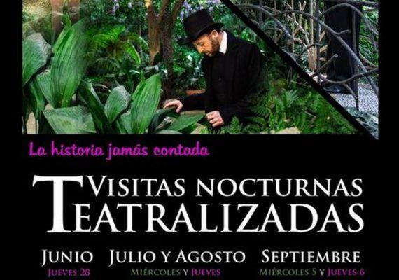 Visitas nocturnas teatralizadas para toda la familia este verano en el Jardín Botánico La Concepción de Málaga