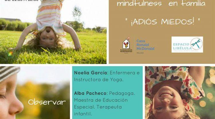 Yoga en familia en la Casa Ronald McDonald Málaga