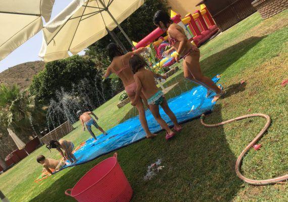 Actividades con agua este verano en restaurante Riosol