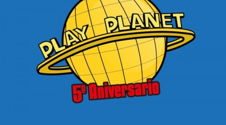 Actividades en Play Planet Málaga por su quinto aniversario