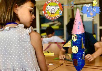 Descuentos en agosto en el campamento de verano para niños de Ciencia Divertida en Benalmádena