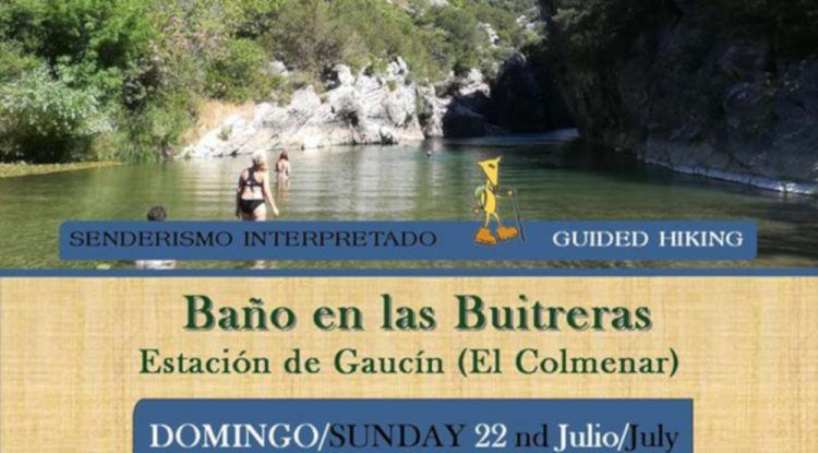 Excursión de ruta de agua para toda la familia este fin de semana en Gaucín