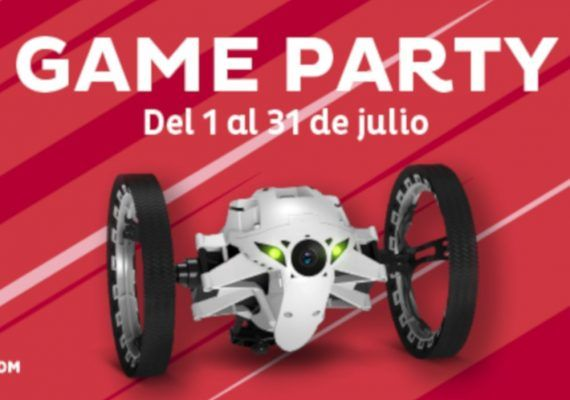 Game Party en el Centro Comercial Miramar en julio
