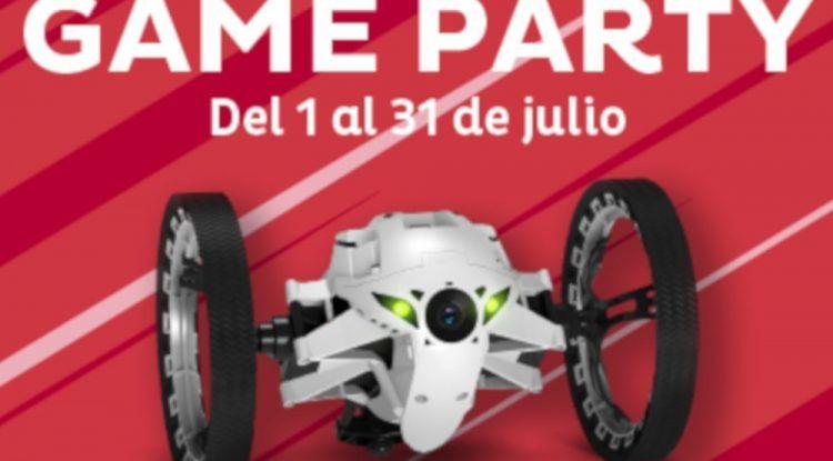Game Party en el Centro Comercial Miramar en julio