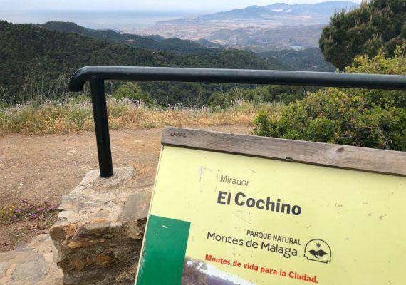 Mirador del Cochino en los Montes de Málaga 2