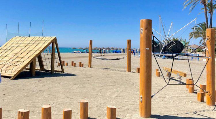 Parque Jumanji Playa Junior Torre del Mar