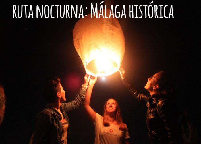 Ruta nocturna 'Málaga Histórica' de Tierra Malacitana