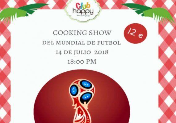 Taller de cocina para niños en Club Happy Málaga