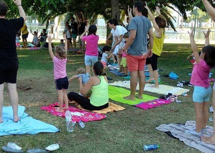 Yoga para bebés y madres en Málaga