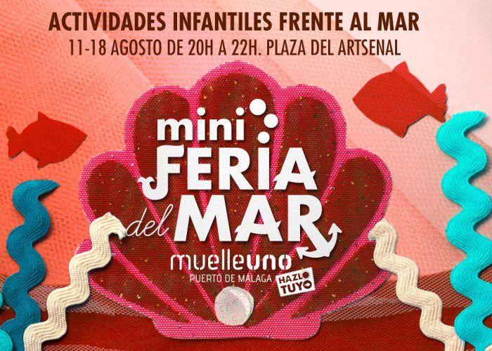 Actividades infantiles en la Mini Feria del Mar de Muelle Uno Málaga 2