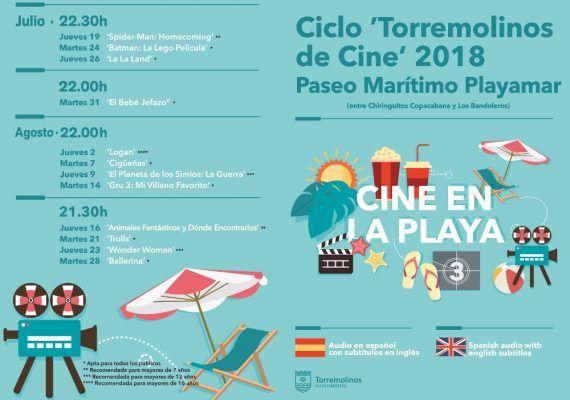 Cine de verano de Torremolinos 2018