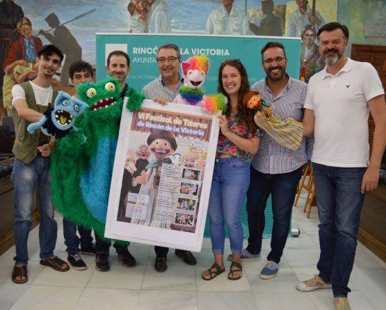 Festival de títeres gratis para niños en Rincón de la Victoria