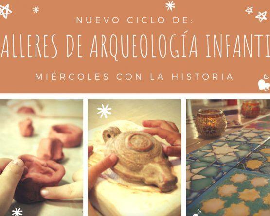 Talleres infantiles de arqueología en Málaga con ArqueoRutas